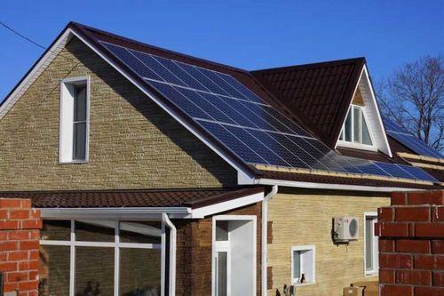 Применение солнечных батарей для дома