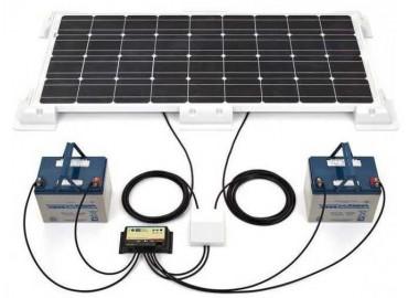 Схема зарядки аккумулятора от солнечной батареи