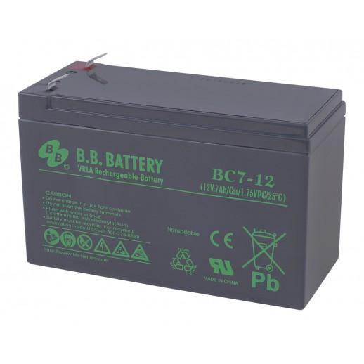 Фото - Аккумулятор B.B. Battery BC 7-12