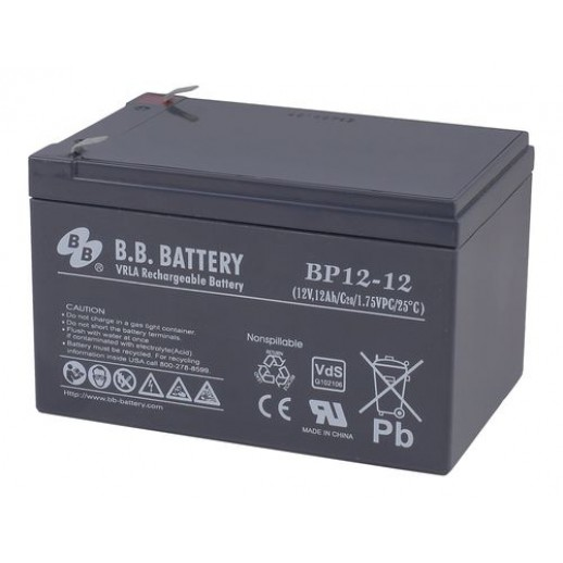 Фото - Аккумулятор B.B. Battery BP 12-12