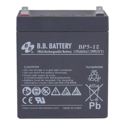 Фото - Аккумулятор B.B. Battery BP 5-12
