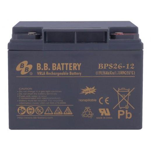 Фото - Аккумулятор B.B. Battery BPS 26-12