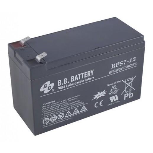 Фото - Аккумулятор B.B. Battery BPS 7-12
