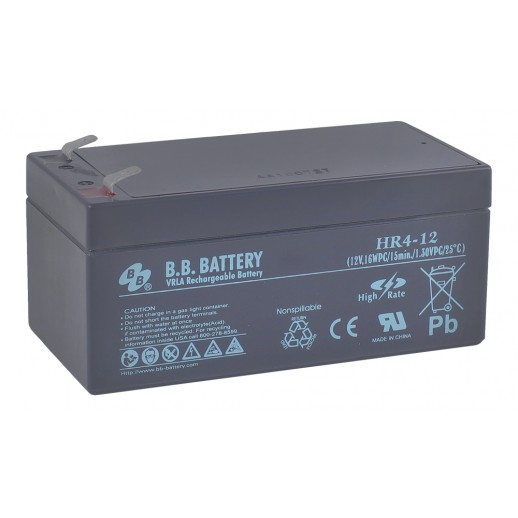 Фото - Аккумулятор B.B. Battery HR 4-12