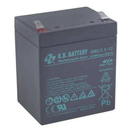 Фото - Аккумулятор B.B. Battery HRC 5,5-12