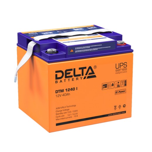 Фото - Аккумулятор Delta DTM 1240 I