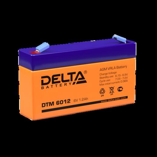 Фото - Аккумулятор Delta DTM 6012