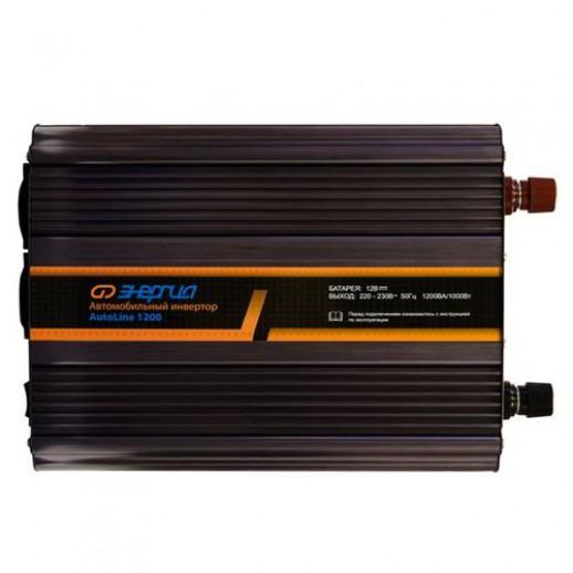 Фото - Автомобильный инвертор Энергия AutoLine 1200