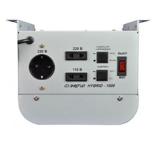 Фото - Однофазный стабилизатор напряжения Энергия Hybrid 500