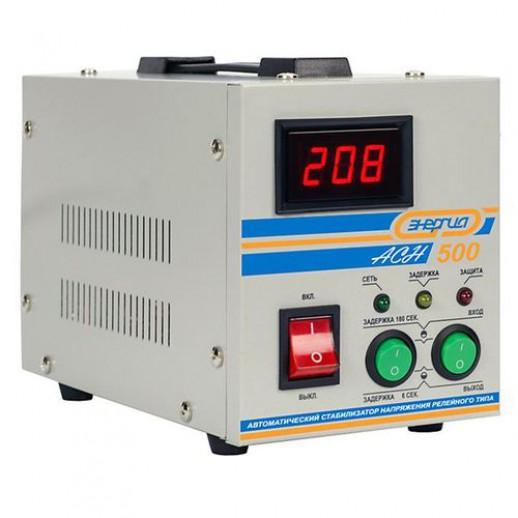 Фото - Однофазный стабилизатор напряжения Энергия АСН-500