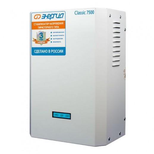 Фото - Однофазный стабилизатор напряжения Энергия Classic 7500