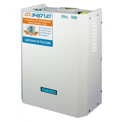 Фото - Однофазный стабилизатор напряжения Энергия Ultra 5000