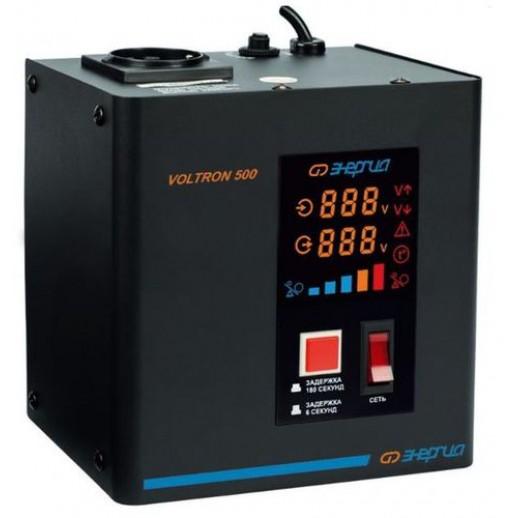 Фото - Однофазный стабилизатор напряжения Энергия Voltron 500 (HP)