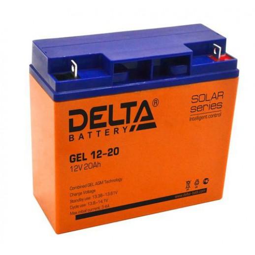 Фото - Аккумулятор Delta GEL 12-20