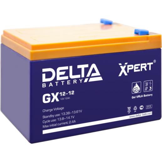Фото - Аккумулятор Delta GX 12-12 Xpert