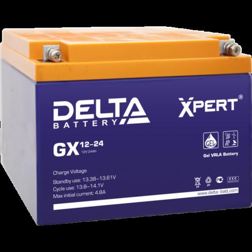 Фото - Аккумулятор Delta GX 12-24 Xpert