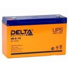 Фото - Аккумулятор Delta HR 6-15 для детских машин
