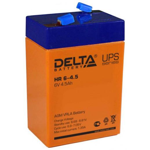 Фото - Аккумулятор Delta HR 6-4,5 для детских машин