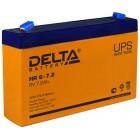 Фото - Аккумулятор Delta HR 6-7,2 для детских машин