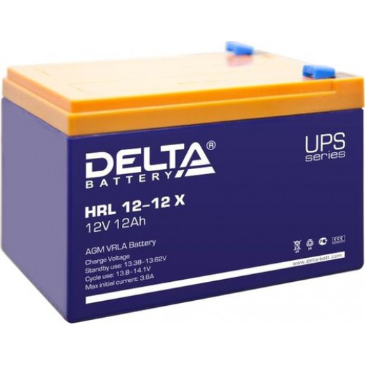 Фото - Аккумулятор Delta HRL 12-12 X