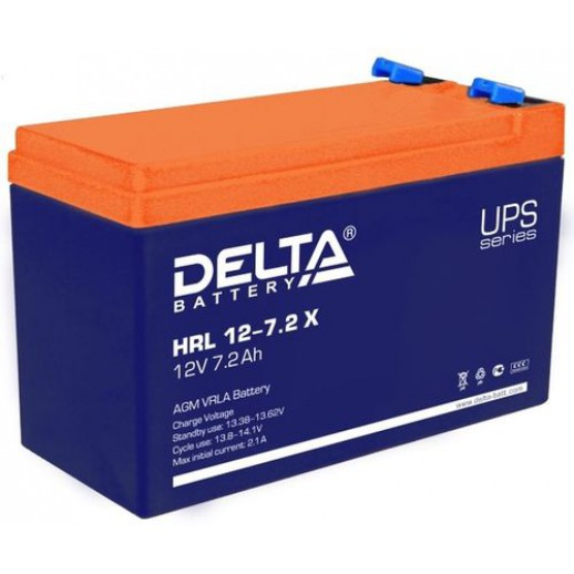 Фото - Аккумулятор Delta HRL 12-7,2 X