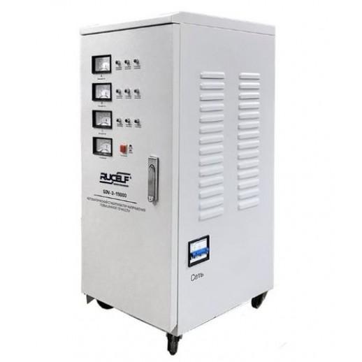 Фото - Трехфазный стабилизатор напряжения Rucelf SDV-3-15000