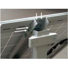 Кронштейн Егерь 4 для крепления солнечных батарей на столб