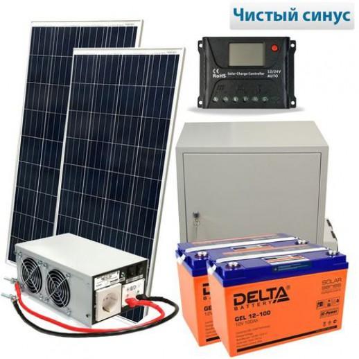 Фото - Солнечная электростанция Эко 400-1500