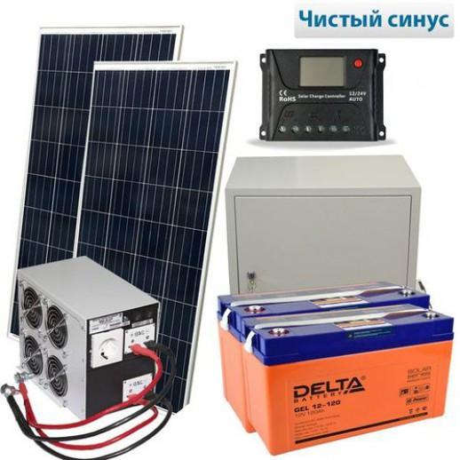 Фото - Солнечная электростанция Макси 500-3000